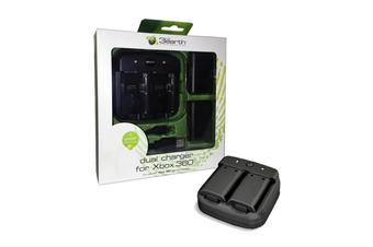 Xbox 360 Controller Dual Battery Charger (Batteries Included)