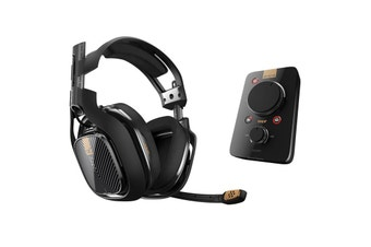 ASTRO A40 TR + MixAmp PRO TR Wired Headset (Black) for PS4 / PS3 & PC