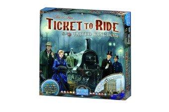 Ticket To Ride United Kingdom Expansion Board Game