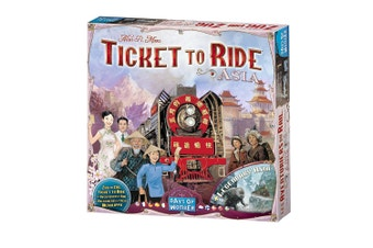 Ticket to Ride Asia Expansion Board Game
