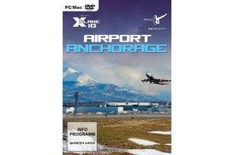X-Plane 10 Airport Anchorage Add-On (Mac, PC)