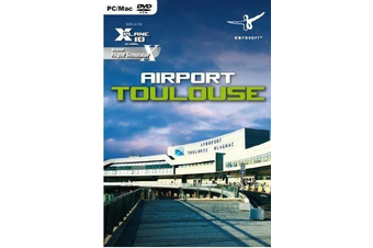Airport Toulouse Add-On for X-Plane 10 & Microsoft Flight Simulator X (Mac, PC)