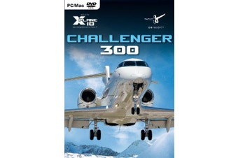 Challenger 300 Add-On for X-Plane 10 / 9 (Mac, PC)