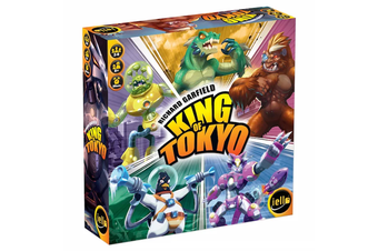 King of Tokyo Second Edition Board Game