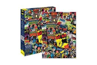 DC Comics Batman Comic Collage 1000 Piece Puzzle