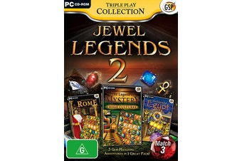 Jewel Legends 2 Triple Play Collection (PC)