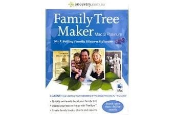 Family Tree Maker Mac 3 Platinum (Mac)