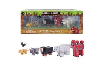 Minecraft Wild Animal Pack Figures