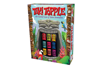 Tiki Topple Board Game