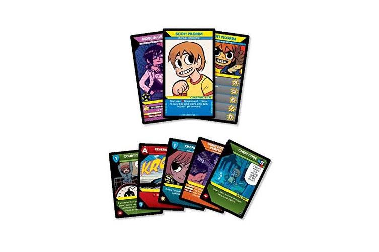 Scott Pilgrim S Precious Little Card Game Kogan Com