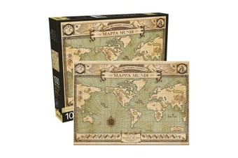 Fantastic Beasts and Where to Find Them Map 1000 Piece Jigsaw Puzzle