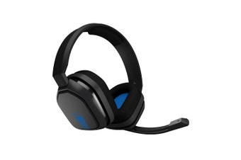ASTRO A10 Gen 1 Wired Gaming Headset (Grey/Blue) for PS4 / Xbox One & Mobile