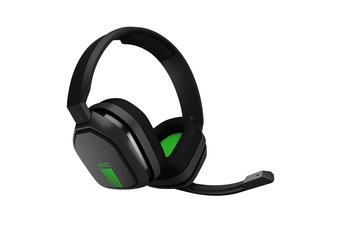 ASTRO A10 Gen 1 Wired Gaming Headset (Grey/Green) for Xbox One / PS4 & Mobile