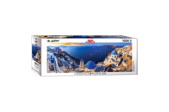Airpano Santorini Greece Panoramic 1000 Piece Jigsaw Puzzle