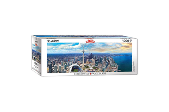 Airpano Toronto Canada Panoramic 1000 Piece Puzzle