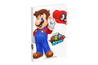 Super Mario Odyssey Collector's Edition Guide Book