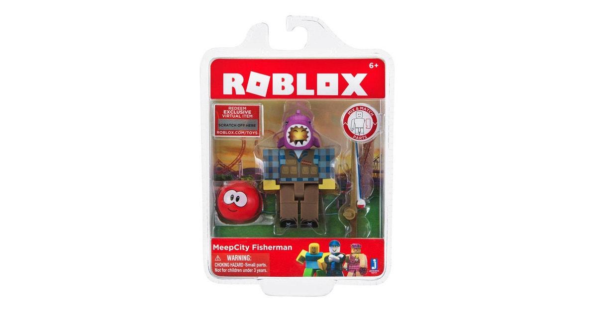 Meep City Fisherman Roblox Toy Dick Smith Roblox Series 2 Meepcity Fisherman Figure Action Toys Figurines