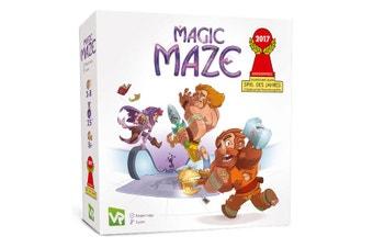 Magic Maze Tile Game