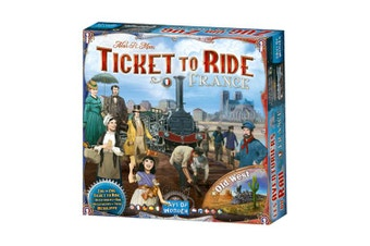 Ticket to Ride: France Expansion Board Game