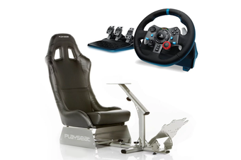 Playseat Evolution (Black) with Logitech G29 Racing Wheel Bundle