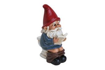 Gnome on a Throne Garden Gnome