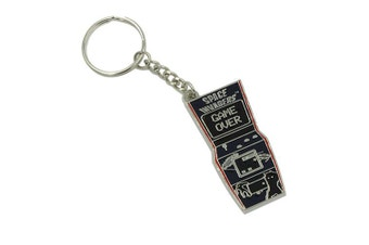 Space Invaders Keychain / Keyring
