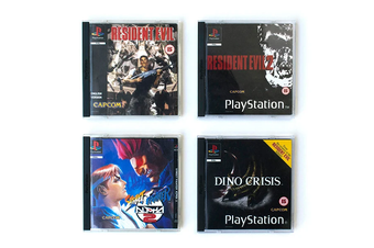 PlayStation Coasters Vol 3 (Capcom)