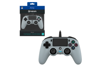 Nacon Silver Wired Compact Controller for PlayStation 4