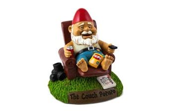 The Couch Potato Garden Gnome