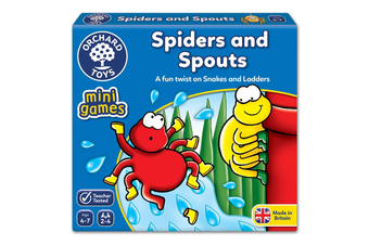 Spiders and Spouts Board Game
