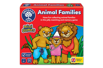 Animal Families Card Game
