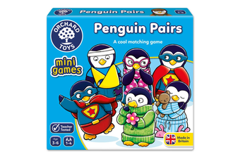 Penguin Pairs Card Game