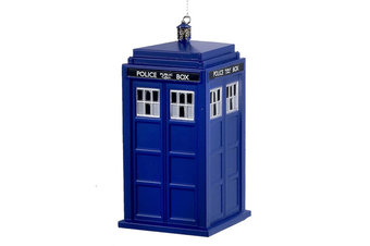 Doctor Who Tardis Christmas Ornament