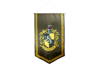 Harry Potter Hufflepuff Satin Banner