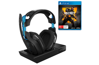 ASTRO A50 Gen 3 PS4 Wireless Headset with Bonus Call of Duty: Black Ops 4