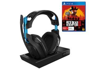 ASTRO A50 Gen 3 PS4 Wireless Headset with Bonus Red Dead Redemption 2