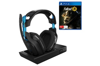 ASTRO A50 Gen 3 PS4 Wireless Headset with Bonus Fallout 76