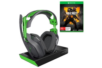 ASTRO A50 Gen 3 Xbox One Wireless Headset with Bonus Call of Duty: Black Ops 4