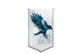 Harry Potter Ravenclaw Watercolour Satin Banner