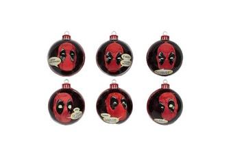 Marvel Deadpool Christmas Baubles