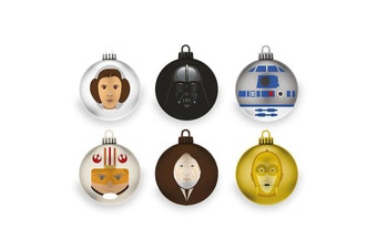 Star Wars A New Hope Christmas Baubles