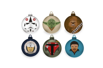 Star Wars: The Empire Strikes Back Christmas Baubles