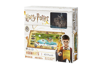 Harry Potter 4D Wizarding World 543 Piece Jigsaw Puzzle