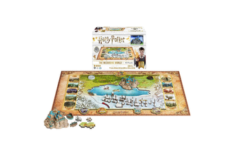 Harry Potter 4D Wizarding World 892 Piece Jigsaw Puzzle