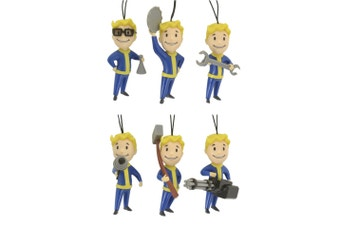 Fallout 76 Christmas Ornaments 6 Pack