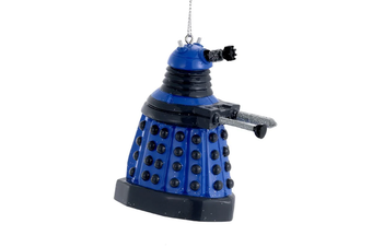 Doctor Who Blue Dalek Christmas Ornament