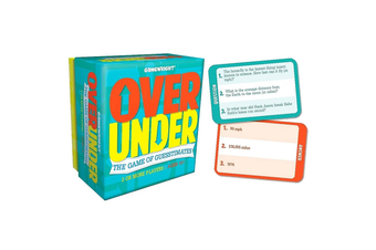 Over/Under The Game of Guesstimates Card Game