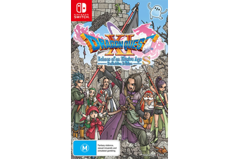 Dragon Quest XI S Echoes of an Elusive Age Definitive Edition (Switch)