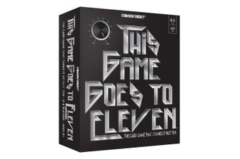 This Game Goes to Eleven Card Game