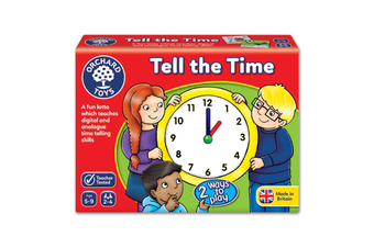 Orchard Tell The Time Lotto Board Game
